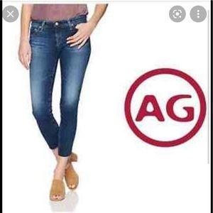 AG The Stilt Cigarette Leg Jeans 24R x 29
